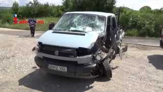 Accident masina butelii Crucea Dognecei 20 iul