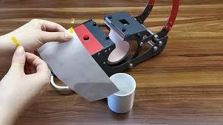 How To Use O Bosstop Mug Press Machine?