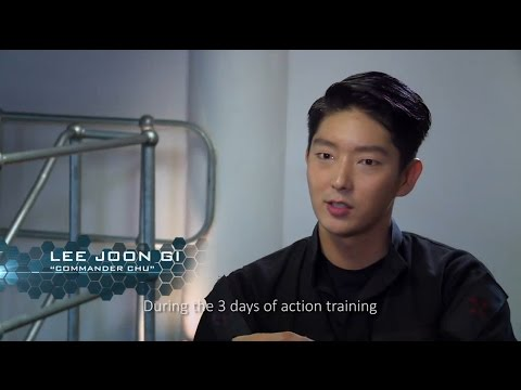 Leejoongi 이준기 Resident Evil The Final Chapter Bts Youtube