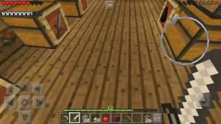 Minecraft survival  minerando um pouco
