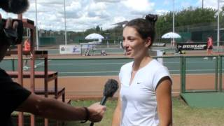 Ipek Soylu interview in South Africa, ITF 2 , 2012