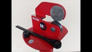 Como hacer una cortadora de chapa rotativa /rotary blade cutter.