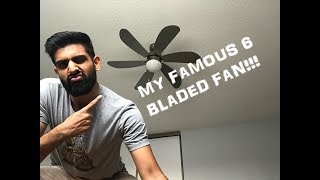 MY FAMOUS 6 BLADED FAN!!!