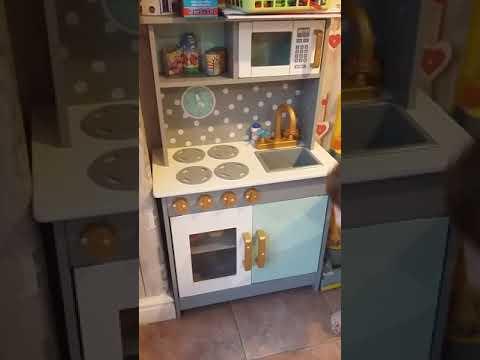 0da52b659b76 George Asda Children's Wooden Play Kitchen