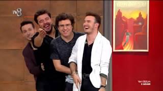 Mustafa Ceceli ve 3 Adam'dan Süpürge Dansı! | 3 Adam Video