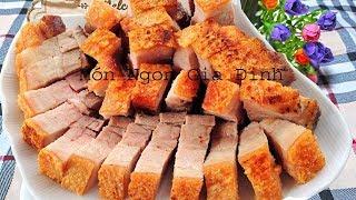 ✅Món Ăn Ngon - Cách Làm THỊT BA CHỈ CHIÊN GIÒN Ngon và Vàng | Món Ngon Gia Đình