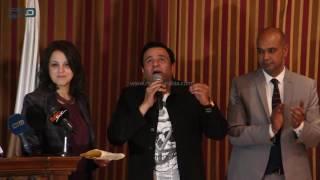 مصر العربية | كلمة النجم محمد فؤاد باحتفالية حق الشهيد وتكريمه