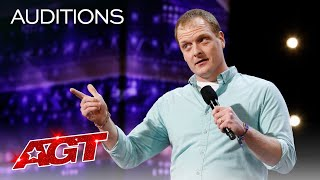 Comedian John Hastings Performs to an EMPTY Audience! Hilarity Ensues - America's Got Talent 2020