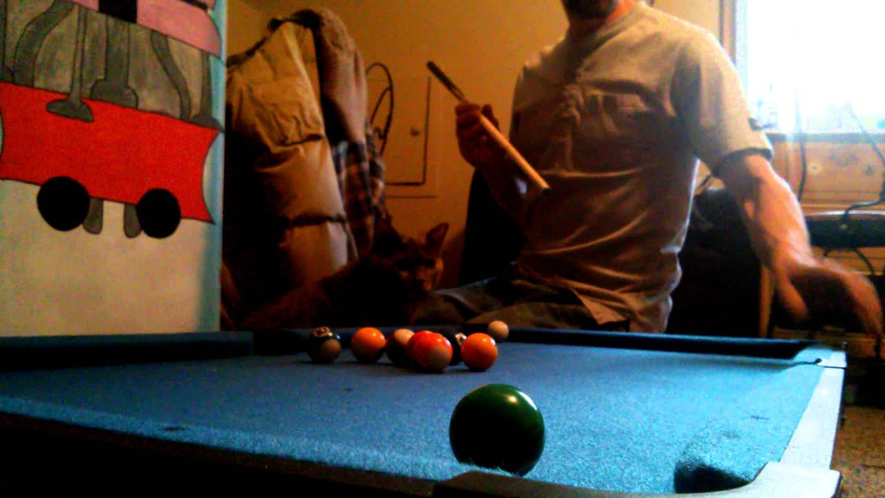 Masse Mini Pool Table YouTube - Masse pool table