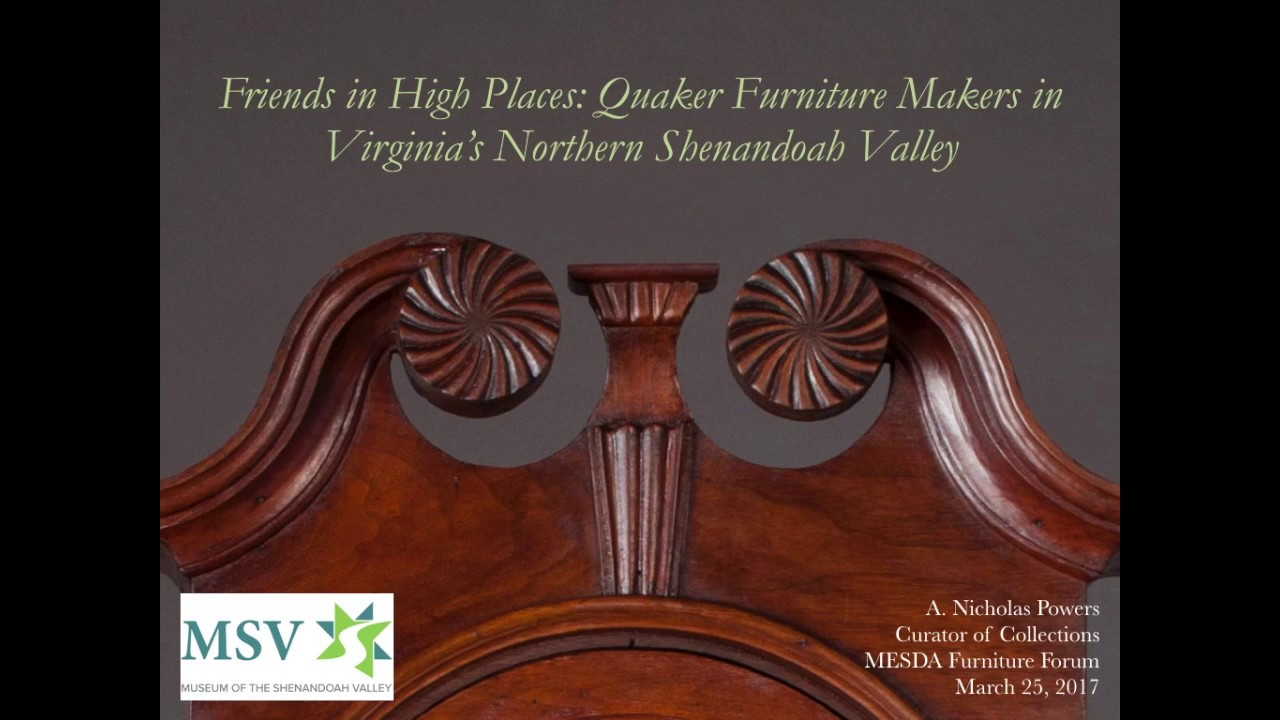 05 2017 MESDA Furniture Seminar U2014 Nick Powers