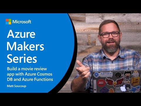 How to build a movie review app with Azure Cosmos DB and