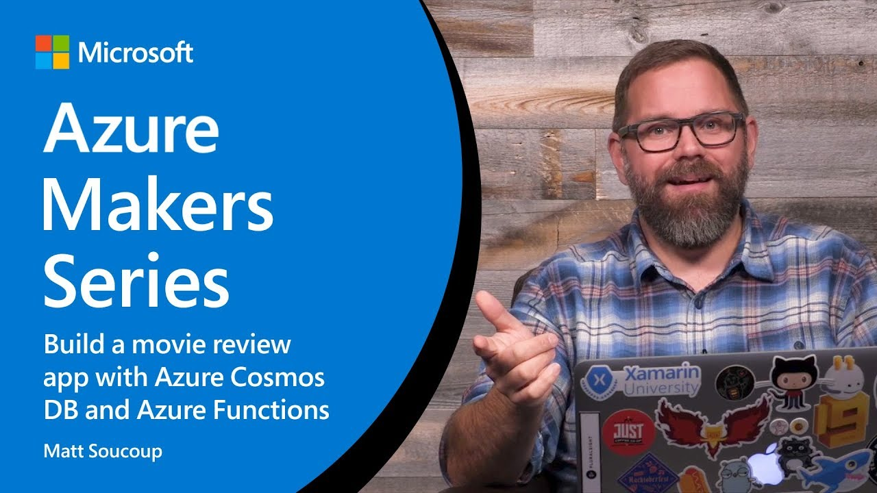 How to build a movie review app with Azure Cosmos DB and Azure Functions    Azure Makers Series