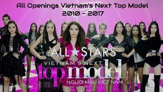 Hình hiệu Vietnam's Next Top Model qua các mùa | 2010 - 2017 | All Vietnam's Next Top Model Openings thumbnail
