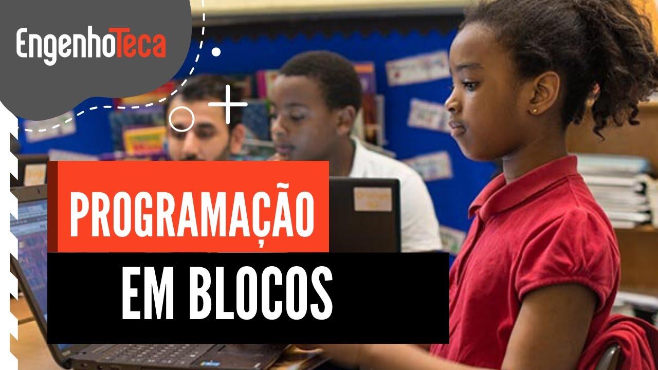 Programação em blocos para crianças