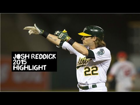 Josh Reddick | 2015 Athletics Highlights HD