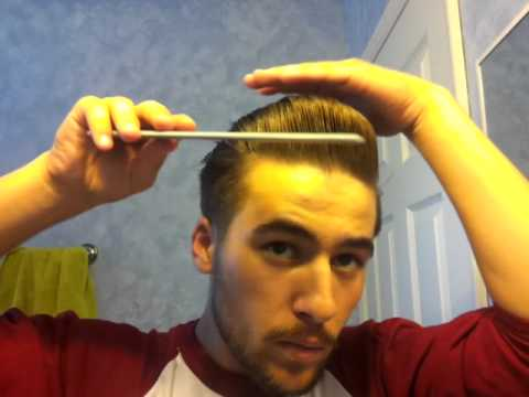 Pompadour Greaser Rockabilly Hair 2 Youtube