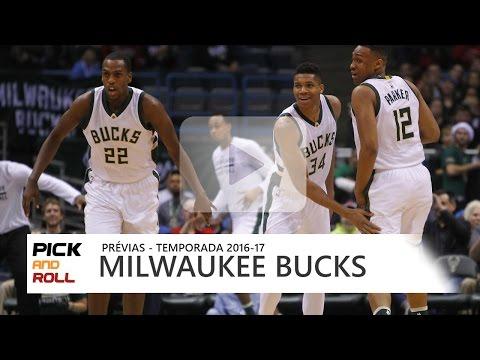 PRÉVIAS NBA 2016-17 - Milwaukee Bucks
