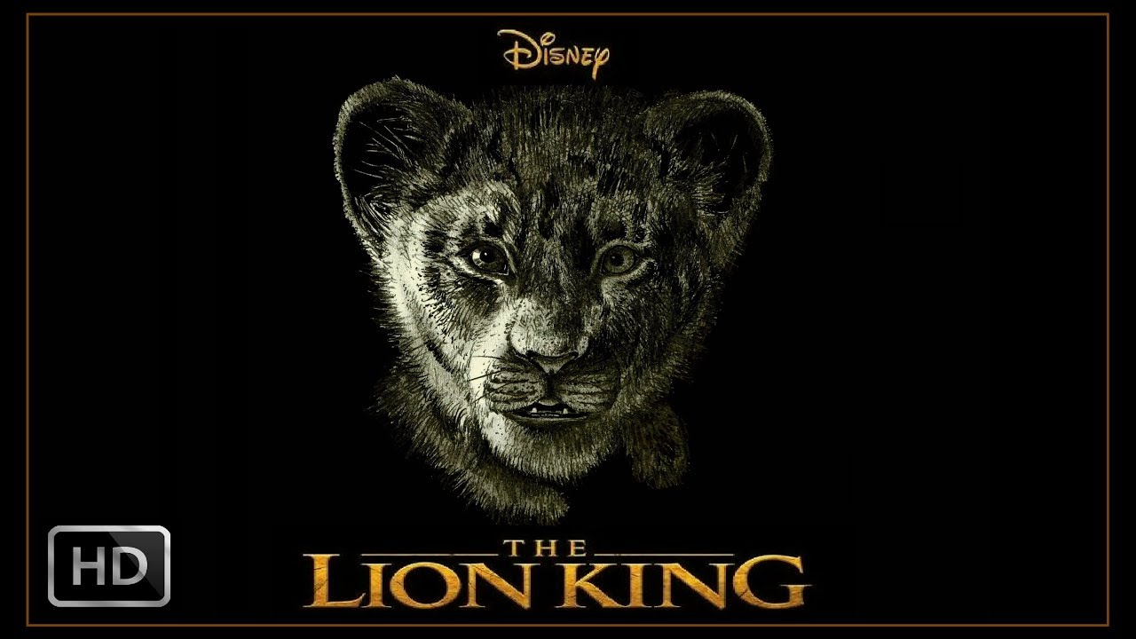 The Lion King 2019 Speed Drawing Disney Movie Poster