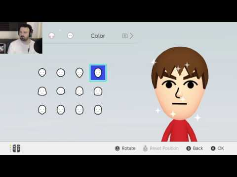 Nintendo Switch Launch: Menu Exploration, Mii Creation and U