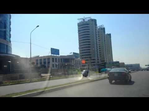 Video 1. Welcome to Kazakhstan, Almaty. Airport, road to the Almaty City. By Irina Asherbekova