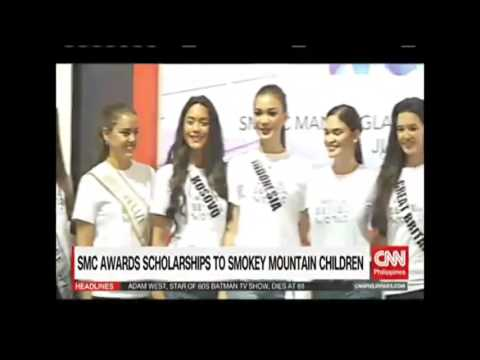 65th Miss Universe Candidates are back in Manila for Charity Event