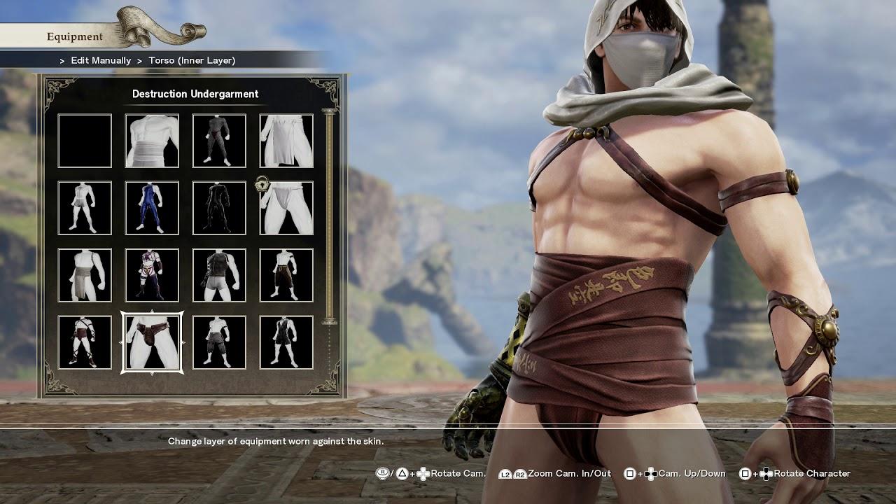 Soul Calibur 6 Character Creation Male