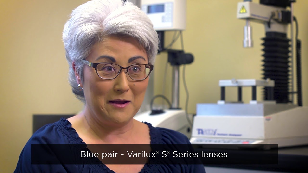 06daeab855e Varilux X vs. S Designs  Real Patients Compare the Products - YouTube