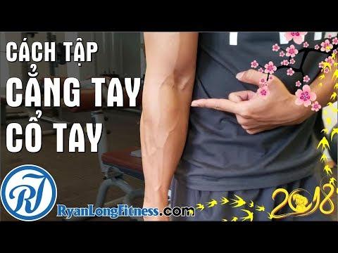 Top 5 Bài Tập Cẳng Tay Cổ Tay Khoẻ Bạn Cần Tập từ  HLV Ryan Long Fitness