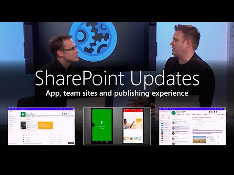Updates To The SharePoint App, Team Sites And Publishing Experience