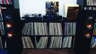 My New Setup! Linn Basik, Marantz PM6006 Amp, Klipsch R26F Speakers!