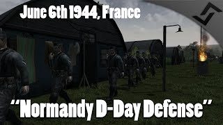 Men of War: Assault Squad 2 - Normandy Defense on D-Day 6th of June 1944