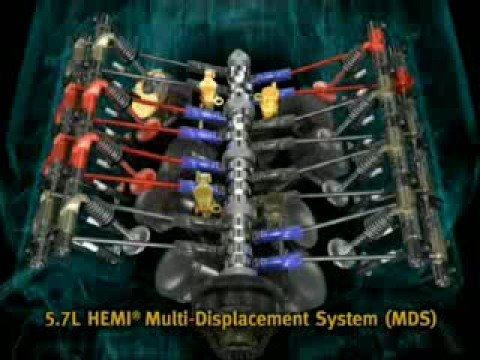 HEMI 57L DODGE RAM MDS - YouTube