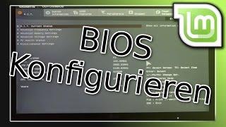 Tutorial: Vom USB Stick booten - Das BIOS öffnen und konfigurieren