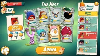 ANGRY BIRDS 2 THE ARENA – GAMEPLAY WALKTHROUGH PART 3 (IOS, ANDROID)