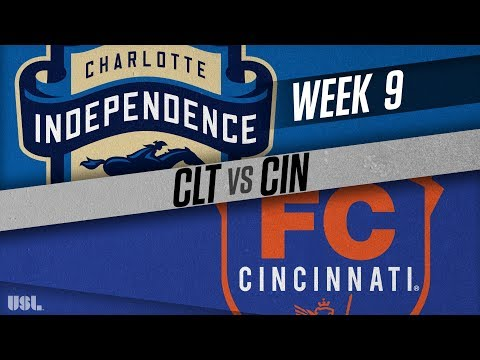 Charlotte Independence vs FC Cincinnati: May 12, 2018