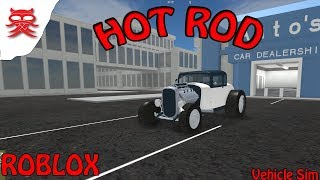 HOT ROD - Vehicle Sim - Dansk Roblox