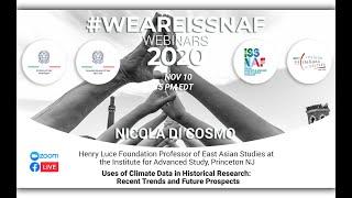 #weareISSNAF2020 Webinar Series - Nicola Di Cosmo