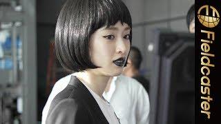 泉里香がIndeed新CMでクローンに!?メイキング・インタビュー