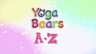 YogaBears A to Z:  D Downward Dog