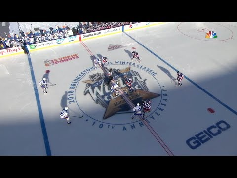 2018 NHL Winter Classic. Rangers Vs Sabres. Jan 1, 2018
