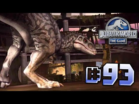 Indominus Pays A Visit To The Centre! || Jurassic World - The Game - Ep 93 HD