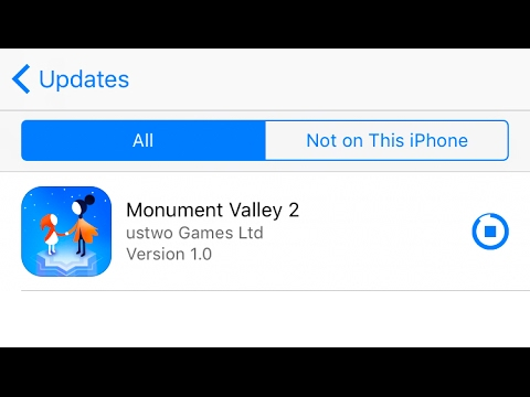 Monument Valley 2 Game Free Download : iPhone , iPad iOS 10 - 11 Without Jailbreak No Computer 2017
