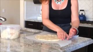 How To Shape Gluten-free Pizza Dough