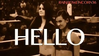 Download AJ LEE & PAIGE // HELLO // MV MP3 song and Music Video