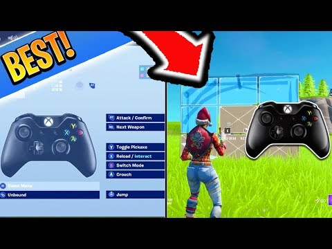 The BEST Binds For (Non Claw) Controller Fortnite Players! (Fortnite Custom Binds PS4 + Xbox)