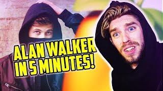 MAKE an ALAN WALKER TRACK IN 5 MINUTES CHALLENGE!