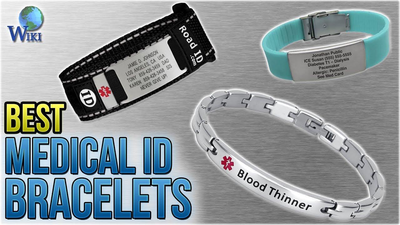 cd670dadd92 10 Best Medical ID Bracelets 2018 - YouTube