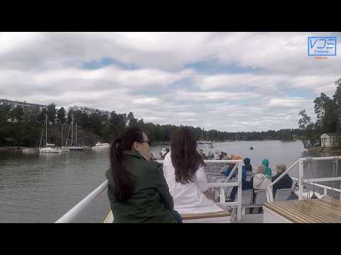 Beautiful Canal Cruise (Gulf of Finland), Helsinki