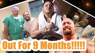 Top 10 Injured WWE Superstars And Their Expected Date Of Return