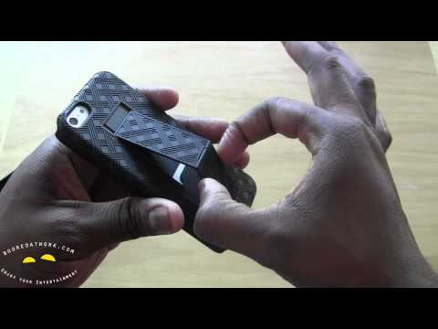 iPhone 5 Shell Holster Combo Case Review-Wirelessground.com